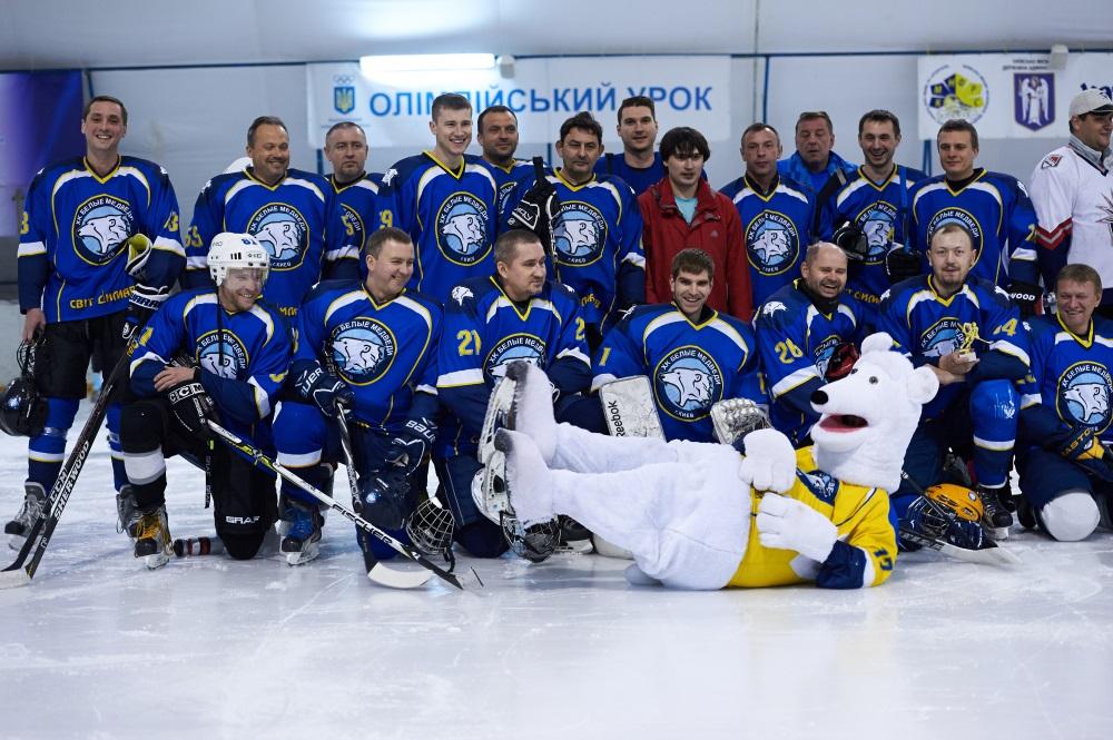 Школа хоккея для взрослых в Киеве